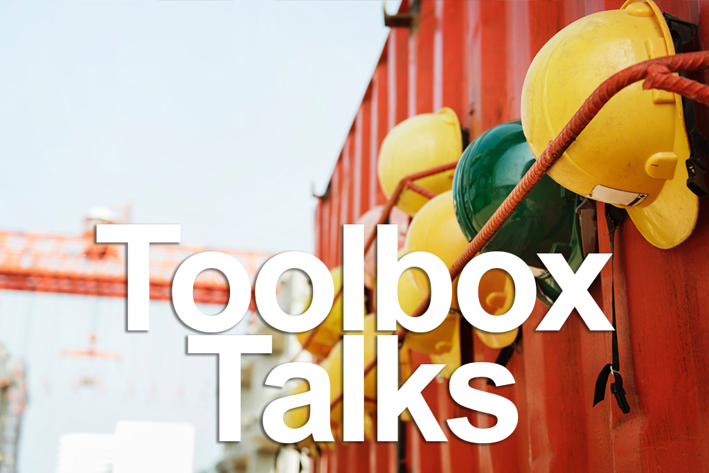 AGC Toolbox Talks